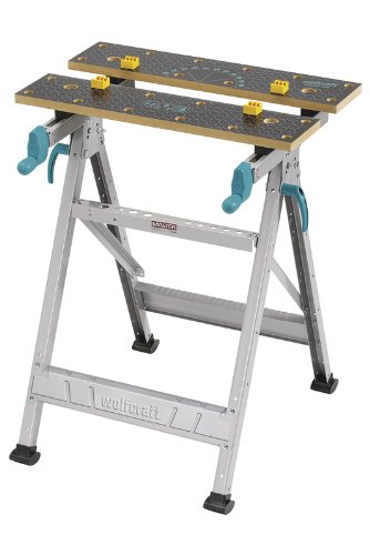 Wolfcraft Master 200 Etabli et table de serrage universel Charge maximale 180 kg
