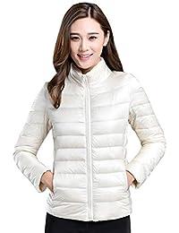 d55d4e5ec2 Amazon.it: Piumini Bianchi - Giacche e cappotti / Donna: Abbigliamento