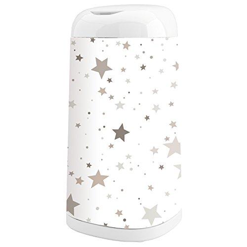 Angelcare Dress-Up Windeleimer mit Bezug Flying Stars