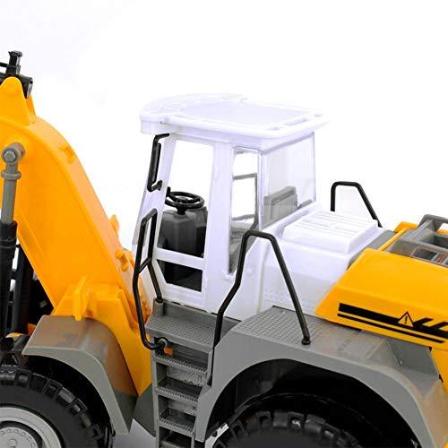 RC Auto kaufen Baufahrzeug Bild 5: RC ferngesteuerter bagger kinder Baufahrzeug für Kinder ab 3 Jahren Spielzeugauto Kranwagen Bulldozer Bagger Kinder*