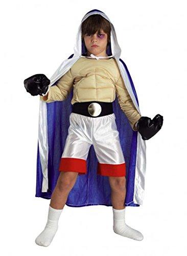 Kinder Boxer Kostüm, Sport Kostüm Karneval für Jungen, Größe:116 (Kreative Sport Kostüm Ideen)