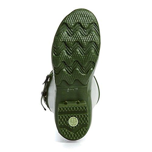 Hunter Norris Field Boot Vintage Green