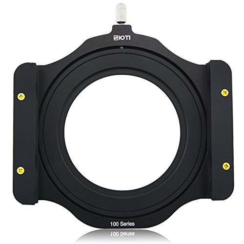 SIOTI 100mm Quadratische Z-Serie Modularer Filterhalter aus Metall + Metall-Adapter-Ring für Lee Hitech Singh-Ray Cokin Z PRO 4X4 4x5 4X5.66 Filter Lee Filter-adapter-ring