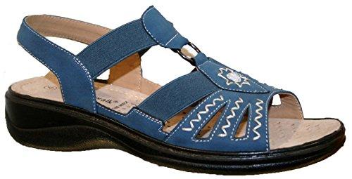 Cushion Walk , Sandales pour femme Bleu - bleu