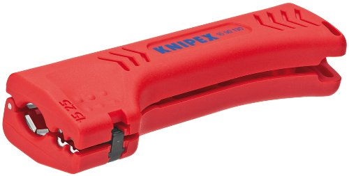 KNIPEX 16 90 130 SB Universal-Abmantelungswerkzeug für Gebäude- und Industriekabel 130 mm (in SB-Verpackung)