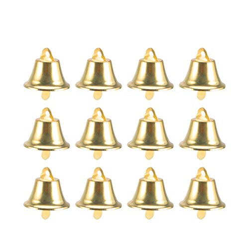 Amosfun 24 Piezas Campanas artesanales cascabeles