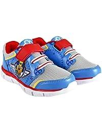 Sneakers multicolore con chiusura velcro per bambini Superman