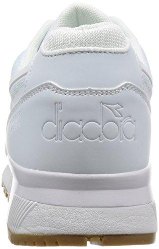 Diadora N9000 Mm, Pompes à plateforme plate homme Blanc Cassé - Bianco (20006 Bianco)