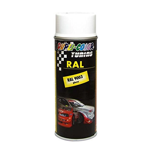 Preisvergleich Produktbild Dupli-Color 238260 DC Tuning Spray Paint RAL 9003 400 ml, Glanz