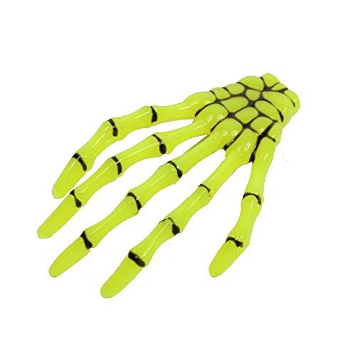 lammer Skeletthand in der Farbe Neongrün ()