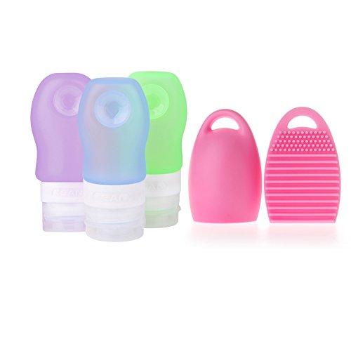 flyo-neerr-giunto-bar-soft-silicone-viaggio-bottiglia-di-set-2-oz-60-ml-trucco-pennello-di-pulizia-i