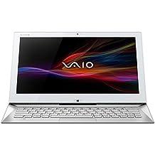 "Sony Vaio Duo SVD1321X9EW - Portátil de 13.3"" (Intel Core i7 4500U, 4 GB de RAM, Disco SSD 128 GB, Intel HD Graphics 4400, Windows 8 Pro x64), blanco -Teclado QWERTZ Alemán"