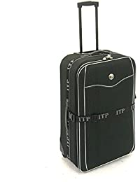 ITP International Super Lightweight Hard Wearing Expandable 2 Wheel Hold Luggage Trolley Suitcase