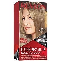 Revlon ColorSilk Tinte de Cabello Permanente Tono #60 Rubio Cenizo Oscuro