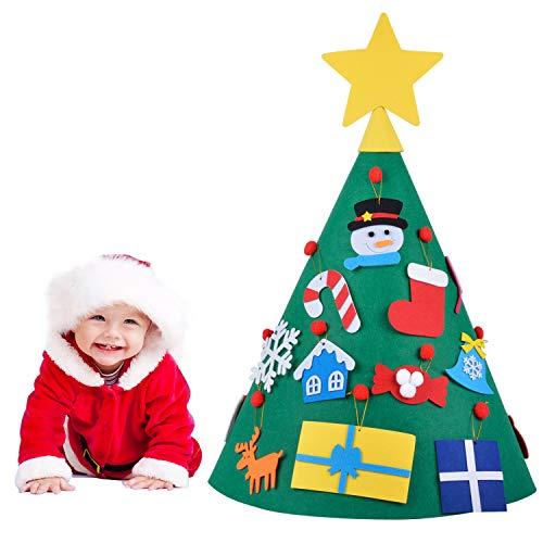 Joyibay 18 Piezas Kit de Artesanía de Navidad Árbol de Navidad DIY...