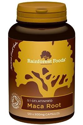 Rainforest Foods Organic Gelatinised Maca Root