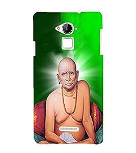 FUSON Shree Swami Samarth 3D Hard Polycarbonate Designer Back Case Cover for Coolpad Note 3