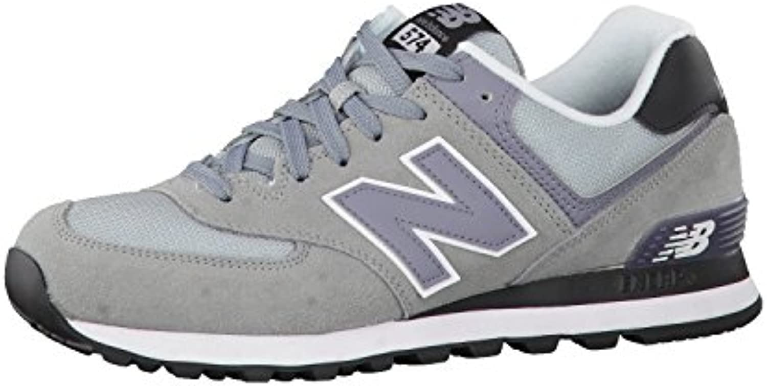 New Balance Hombre 574 Unidad Guantes, Silber (Steel 071Steel 071), 38,5