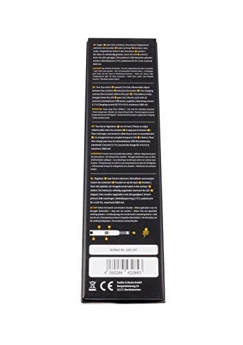 41mk%2B9f6foL - TESLA Lighter T07 | elektronisches USB Lichtbogen Stab Feuerzeug, Schwarz