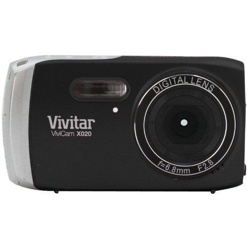 Galleria fotografica Vivitar Vivicam X020 10MP Fotocamera Digitale - Nero (10.1MP, schermo da 2.0 TFT anteprima, zoom digitale 4x, rilevamento anti-shake e viso)