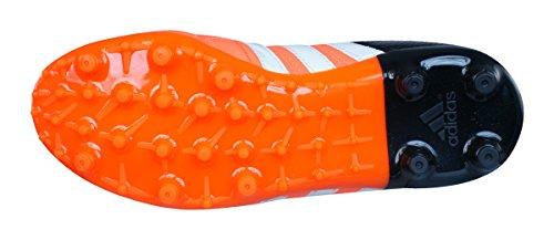 Ace 15.3 FG/AG Cuir Enfants - Crampons de Foot Orange