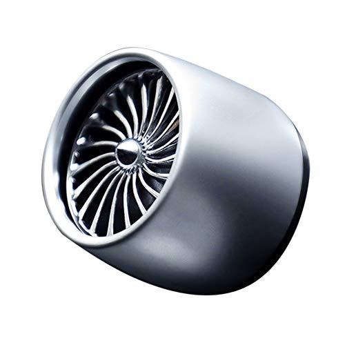 shizhongminghe-IT Profumo Creativo di sfiato Aria per Auto con Luce Deodorante a LED Profumo Solido Profumo Universale per Auto Diffusore-Grigio e Blu