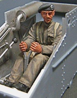 Leidenschaft Models [P35F005] 1/35 British War Anfangs Tanker Fahrer - Tanker Wars
