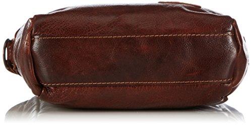 Cowboysbag Bag Hobbs, Borsa a spalla Unisex – adulto Marrone (Braun (Cognac 300))