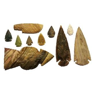 Steinzeit Indianer Tomahawkset experimentelle Archäologie (Nachbau)