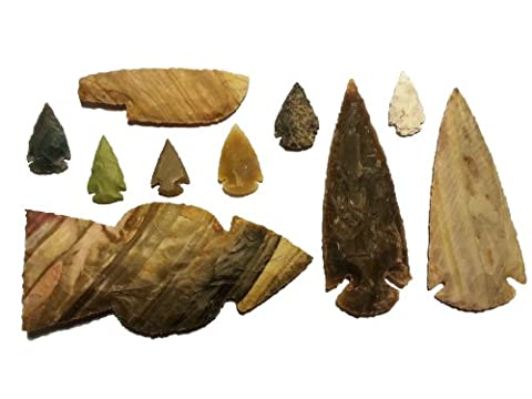 Tomahawk-Set archeologie experimentale age de pierre