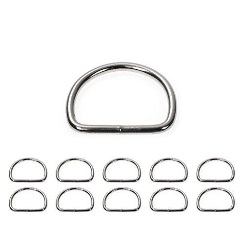 D - Ring aus Stahl, Stahl-Ring Abmessungen 35mm x 28mm, gebraucht kaufen  Wird an jeden Ort in Deutschland