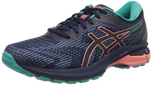 ASICS Womens GT-2000 8 Trail Walking Shoe, Peacoat/Sea Glass, 41.5 EU