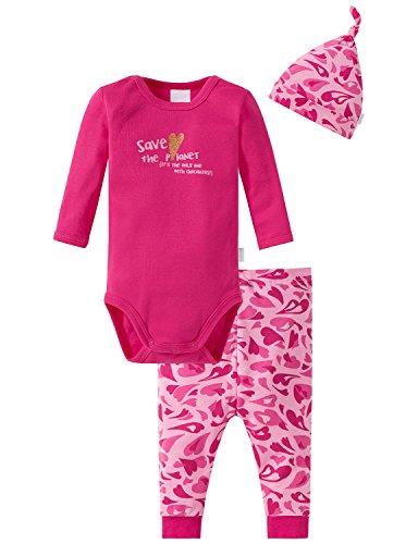 Schiesser Unterwäsche-Set Baby Mädchen, 3er Pack, Mehrfarbig (Sortiert 1 901), 86 (Herstellergröße: 086)