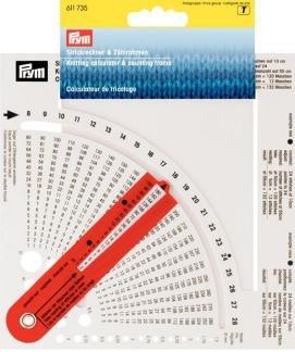 Prym Knitting Calculator