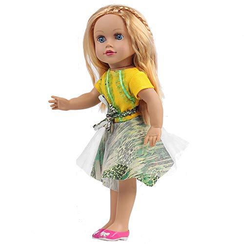 YunYoud Realistische Simulation Puppen Kuschel Mädchen alles Gute zum Geburtstag Geschenk weichen Körper für Kinder holzauto spielzeugladen big jungs outdoor spielwerkzeug