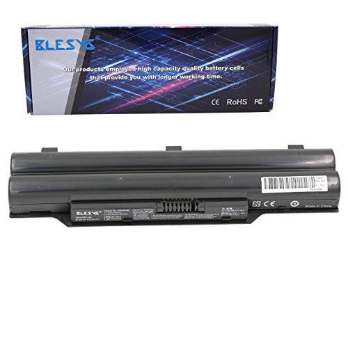 BLESYS - 10.8V 6-Cell Ersatz für Fujitsu LifeBook A530 A531 AH42/E AH530 AH530/3A AH531 LH52/C LH520 LH530 LH701 LH701A PH521 Series Fujitsu FMVNBP186 FPCBP250 CP477891-01 Laptop akku