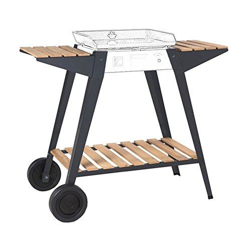 Forge Adour accessoire Plancha BAIONA 450 chariot fer et bois