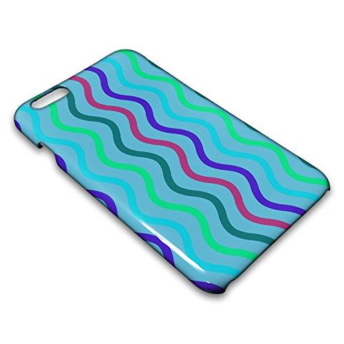 farmygadget Coque Case Étui Impression Complète type color stripes pour Smartphone Apple 00020k