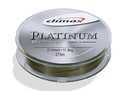 Climax \'Multifilament Platinum 0.18 mm/19.6 kg/275 m - Khaki