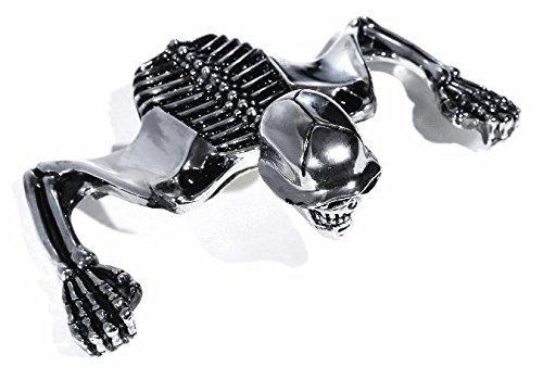 7 Zoll Scheinwerfer Totenkopf Ornament