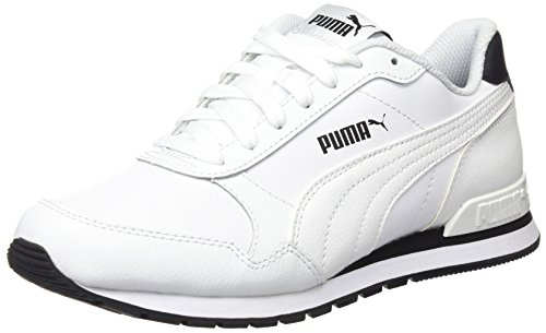 Puma st runner v2 full l, scarpe da ginnastica basse unisex-adulto, bianco white, 41 eu