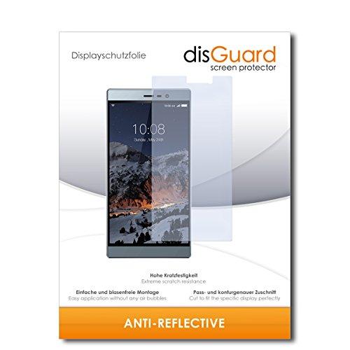 disGuard® Bildschirmschutzfolie [Anti-Reflex] kompatibel mit Switel eSmart M3 [2 Stück] Entspiegelnd, Matt, Antireflektierend, Extrem Kratzfest, Anti-Fingerabdruck - Panzerglas Folie, Schutzfolie