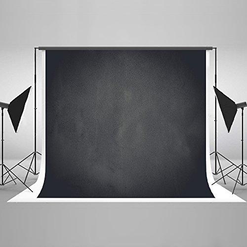 KateHome PHOTOSTUDIOS 3x2m Dunkelgraue Fotografie Hintergrund Portrait Fotografie Kulissen Holzkohle Grau Fotografie Hintergrund Requisiten für Studios Studio 3 Portraits