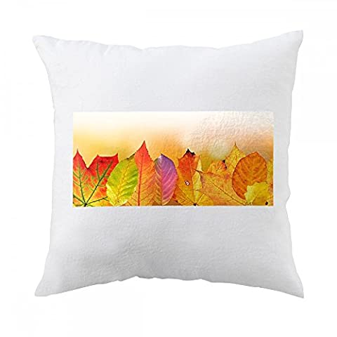 Pillow with Autumn, Leaves, Colorful, Fall Foliage
