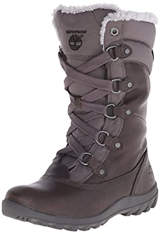 Timberland Women's Mount Hope Mid F/L WP Winter Boot, Dark Grey, 6 M US