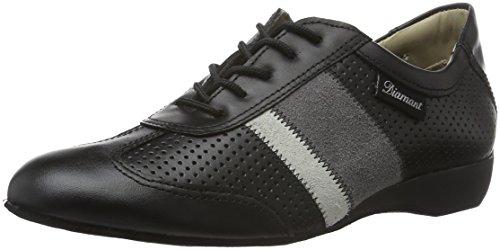 Diamant Herren Ballroom Sneaker Tanzschuhe 124-225-159 Standard & Latein, Grau (Grau), 42 2/3 EU (8.5 UK) (Tanz Schuhe, Salsa-männer)