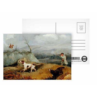 Grouse Shooting (oil on canvas) by Henry.. - Postkarten (8er-Packung) - 15,2x10,2 cm - Beste Qualität - Standardgröße -
