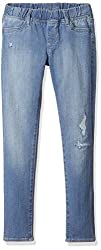 GAP Girls High Stretch Distressed Jeggings (23228238400_Light Wash_8)