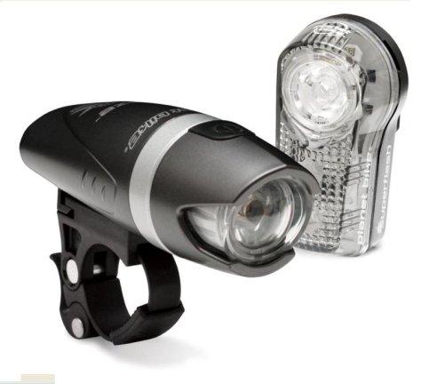 Planet Bike Blaze 1-Watt Headlight and Superflash Taillight Combination Bicycle Light Set (Planet Bike Blaze)
