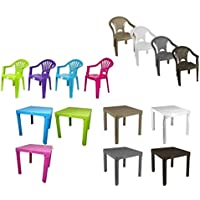 RSW Stackable Kids Children Plastic Chair Home Picnic Party Up To 22.5kg (Pink Chair)